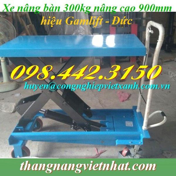 Xe nâng mặt bàn 300kg Gamlift