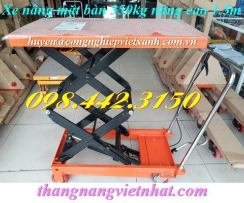 Xe nâng mặt bàn 350kg WP350-1.5M