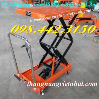 Xe nâng mặt bàn 350kg WP350-1.3M