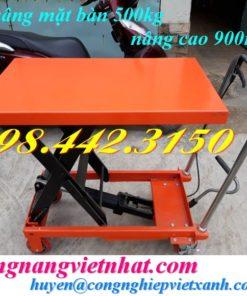 Xe nâng mặt bàn 500kg WP500