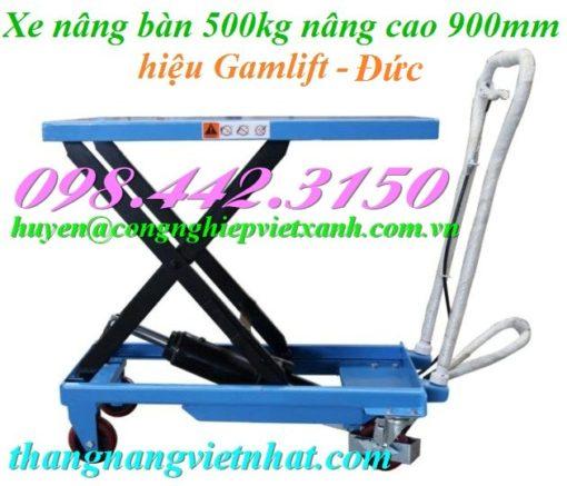 Xe nâng mặt bàn 500kg Gamlift
