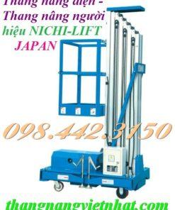 Thang nâng điện 125kg cao 8m NICHI-LIFT