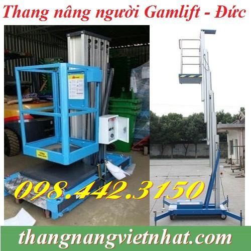 Thang nâng đơn 125kg cao 8m Gamlift - Germany