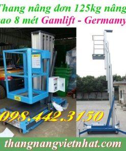 Thang nâng người 125kg cao 8m Gamlift - Germany