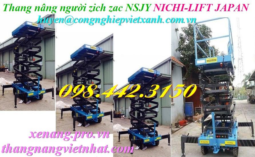 Thang nâng người zich zac NSJY NICHI-LIFT JAPAN