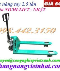 Xe nâng tay 2500kg Nichi-lift