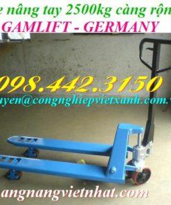 Xe nâng tay 2500kg M25M GAMLIFT