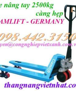 Xe nâng tay 2500kg M25S GAMLIFT
