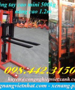 XE NÂNG TAY CAO 0.5 tấn - 2 tấn