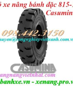 Vỏ xe nâng Casumina 815-15 bánh đặc
