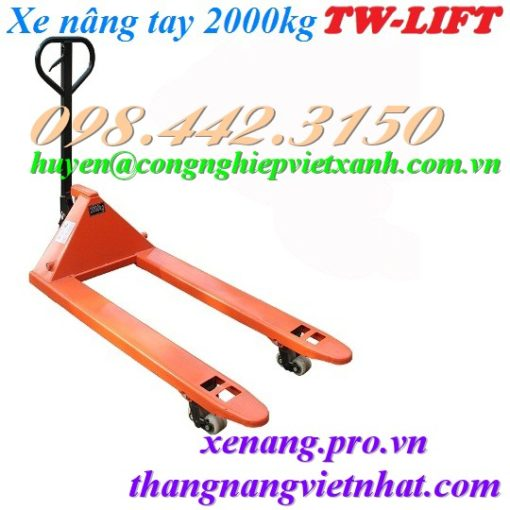 Xe nâng tay 2 tấn JC20M