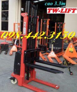 Xe nâng bán tự động 1.5 tấn cao 3.3m TW-lifter