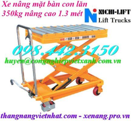 Xe nâng mặt bàn con lăn NICHI-LIFT
