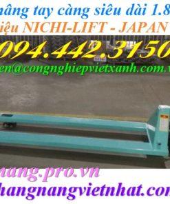 Xe nâng tay càng siêu dài 1.8 mét NICHILIFT