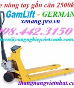 Xe nâng tay - gắn cân (2t, 2.5t)