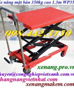 Xe nâng mặt bàn WP350 350kg nâng cao 1300mm
