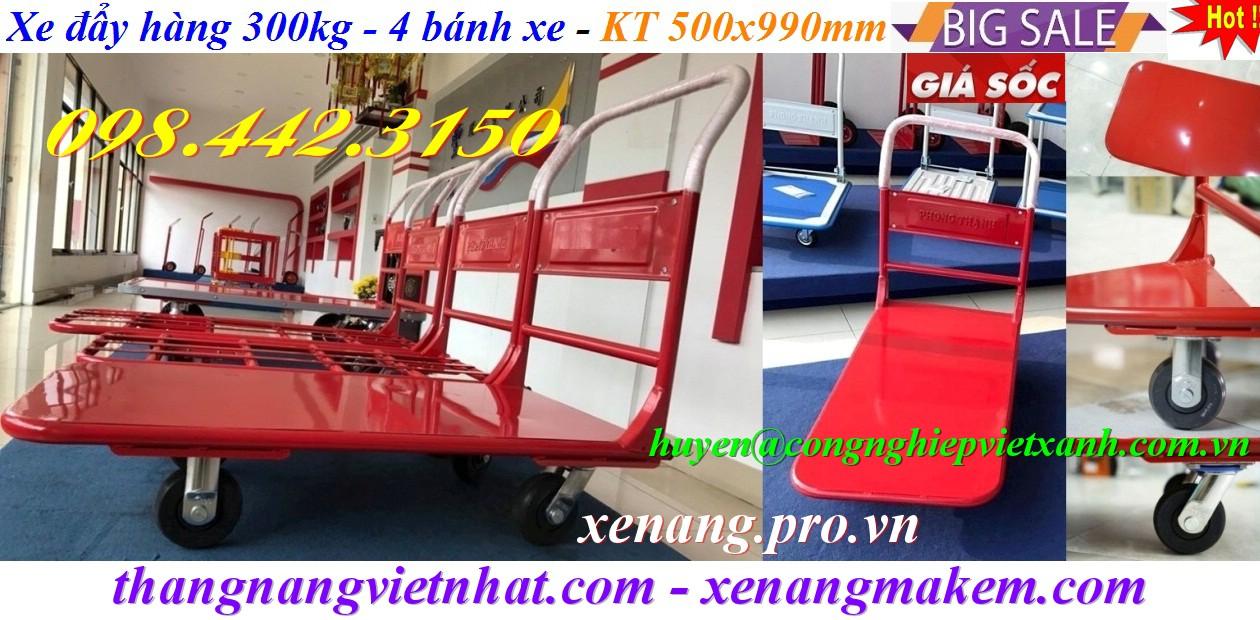 Xe đẩy 300kg XTH130N