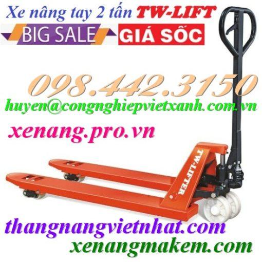 Xe nâng tay 2 tấn JC20M TW-LIFTER