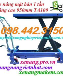 Xe nâng mặt bàn 1000kg TA100
