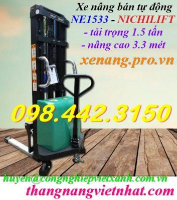 Xe nâng bán tự động NE1533 NICHILIFT