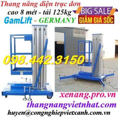 Xe thang nâng người 8 mét - 125kg